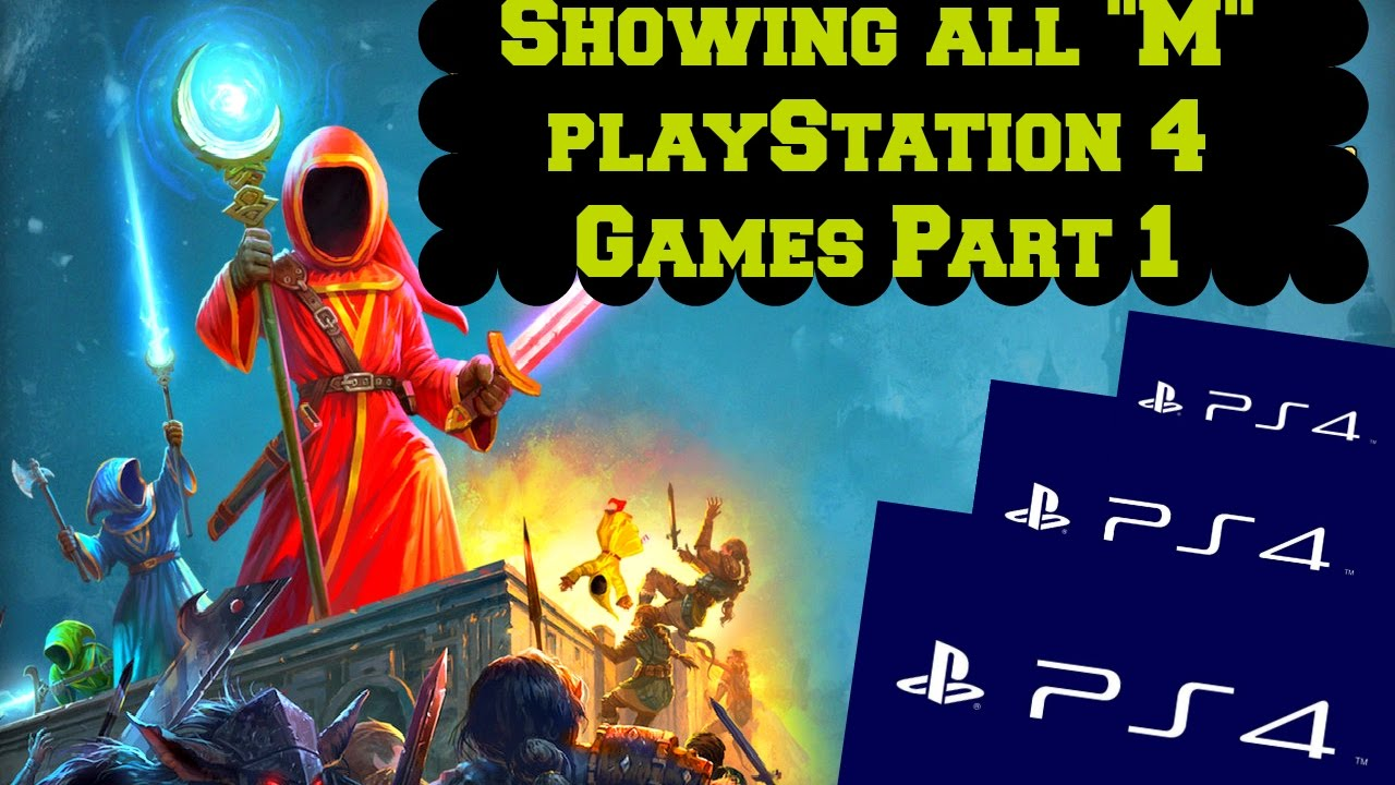 All Playstation 4 Games : Showing all quot m playstation video games part youtube
