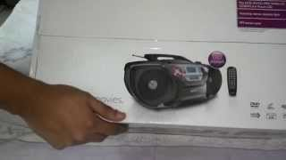 Philips AZ5740/98 DVD Soundmachine (Boom Box) Unboxing