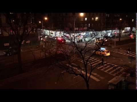 WESTSIDE HATZOLOH ERV, EMERGENCY RESPONSE VEHICLE, RESPONDING ON BROADWAY IN MANHATTAN, NYC.