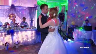 Первый танец молодых на свадьбе Сергея и Виктории