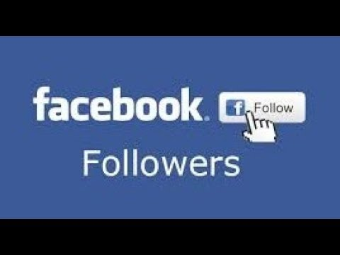 how to get followers on facebook cheat