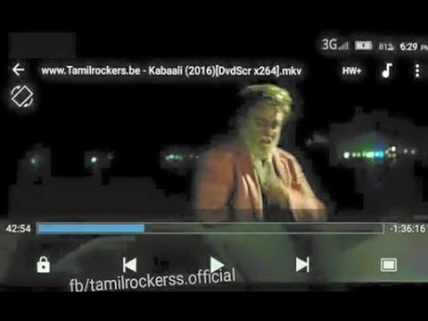 KABALI MOVIE INTRO TAMIL ROCKERS...