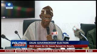 Osun Election: INEC Explains What Happened In Aiyedade