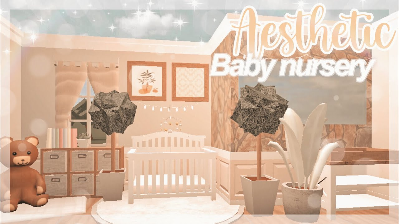 Aesthetic Bloxburg Baby Nursery Speedbuild! ||bloxburg Roblox /speedbuild ( IiRees) - YouTube