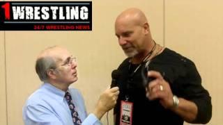 GOLDBERG REVEALS A HOGAN INSIDE STORY, TALKS FAMILY, WWE & MORE!.wmv