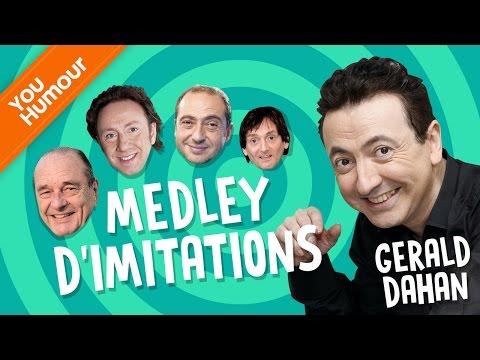 Gérald Dahan : Medley d'imitations