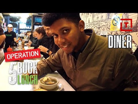 The Best Cheap Food in NYC's East Village || Operation $5 Lunch