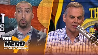 Nick Wright discusses AD to Lakers, if McVay's praise of Belichick costed Rams SB LIII | THE HERD