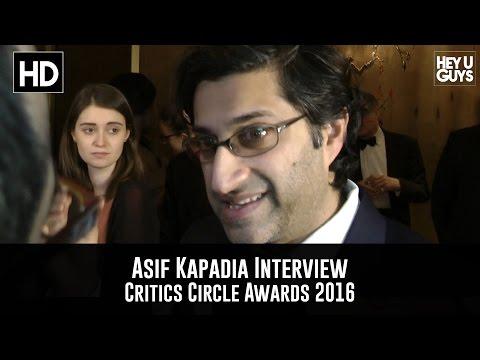 Asif Kapadia Interview - Critics Circle Awards 2016