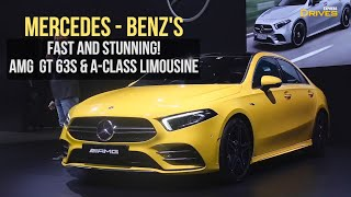AUTO EXPO 2020: Mercedes Benz brings A-Class Limousine & fastest AMG ever to India!