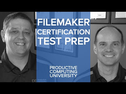 FileMaker Certification Preparation | FileMaker Training