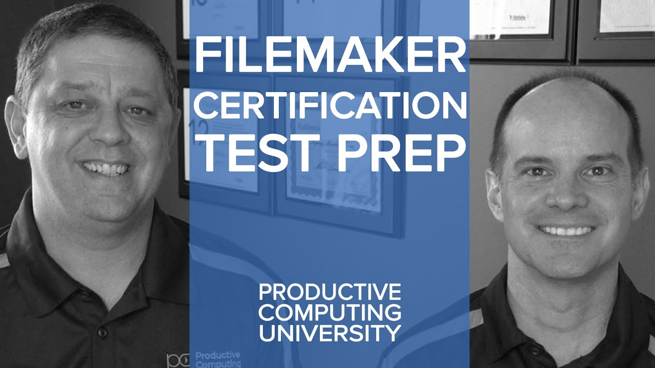 FileMaker Certification Preparation | FileMaker Training