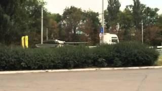 Russian-backed rebels transport tanks into Donetsk