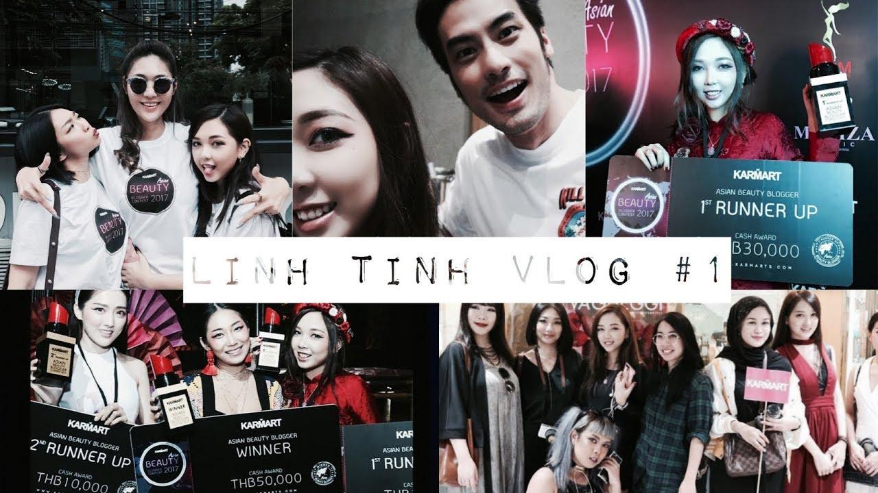  Vlogging #1   Á Quân Karmart Asian Beauty Blogger Contest 2017   Gặp Boy Parkorn Ở Bangkok  
