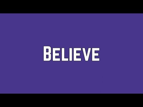 Shawn Mendes - Believe (Lyrics)