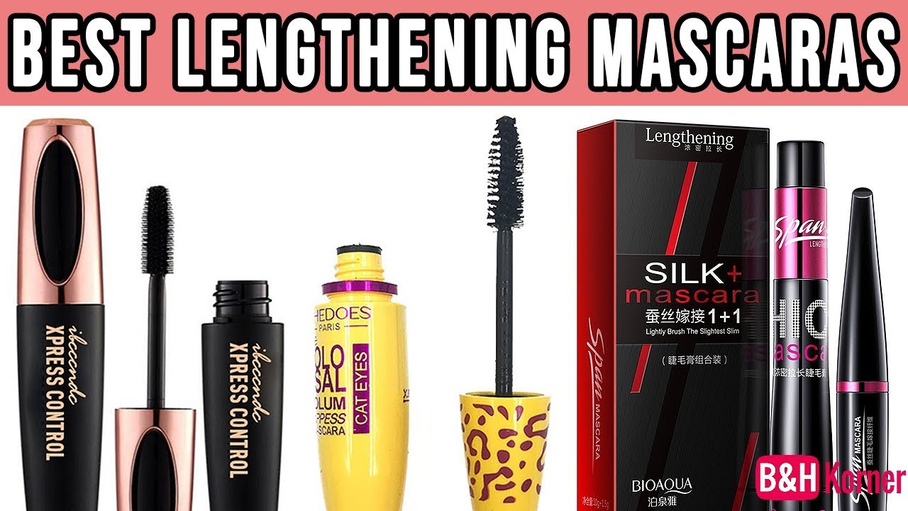 72430fc36fb Top 7 Best Lengthening Mascaras 2019 - Best Makeup Products - YouTube