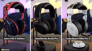 Astro A40 TR X-Edition vs Turtlle Beach Elite Pro 2 vs SteelSeries Arctis Pro
