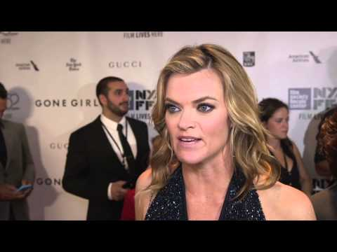 "Gone Girl: Missi Pyle ""Ellen Abbott"" New York Movie Premiere Interview"