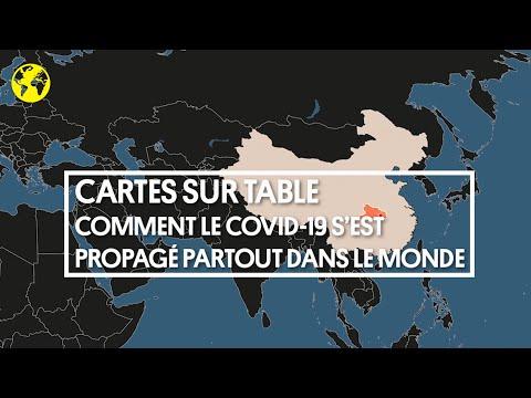 Cartes sur table | Comment le Covid-19 s'est propagé partout dans le monde