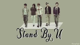 TVXQ (동방신기) - Stand By U [Colour Coded Lyrics] (Kan/Rom/Eng)