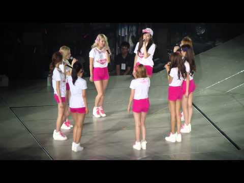 [GG World Tour 2013 In Taiwan] Sone acapella Into The New World for Soshi