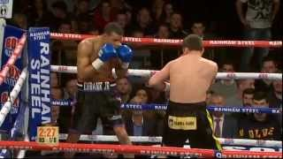 Chris Eubank Jr vs Robert Swierzbinski.