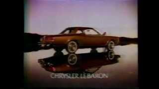 1977 Chrysler LeBaron Commercial