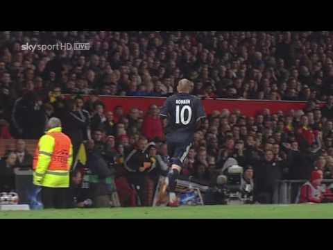 [HD]Champions League 2010 Arjen Robben Goal Manchester United 3 vs 2 FC Bayern Munich