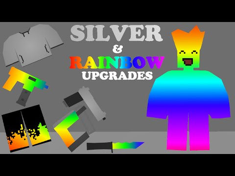 Unturned - Silver & Rainbow Upgrades (Suggestion Thingy xd)