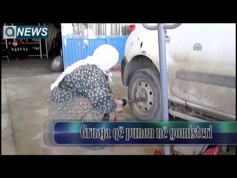 Gruaja që punon në gomisteri  - Kuriozitet