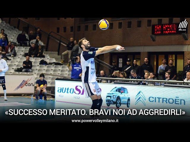 Superlega, l'intervista post Ravenna - Milano di Nicola Pesaresi