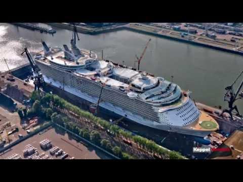 Third videoclip Keppel Verolme -  OASIS OF THE SEAS