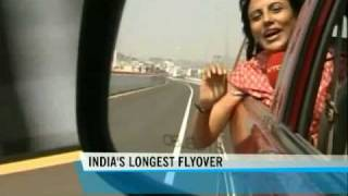 Hyderabad starts using India's longest flyover