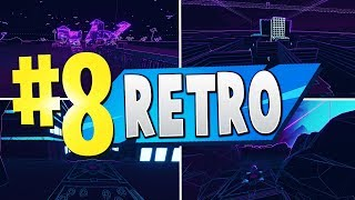 TOP 8 BEST RETRO Creative Maps In Fortnite - France Codes carte Fortnite Retro