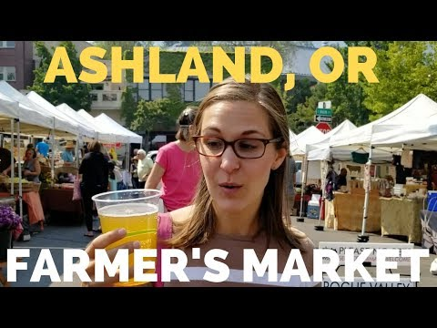 RV Life Visiting Ashland, Oregon | Farmers Market And Food Co-op