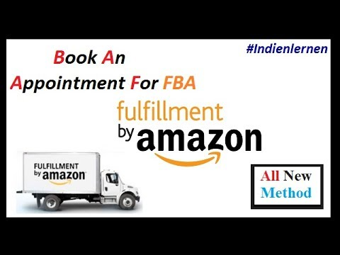How To Book An Appointment For Amazon FBA shipments ( All New Method )
