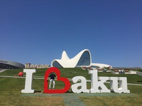 VLOG: Baku, Azerbaijan // Прекрасный БАКУ //  2017