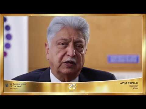 EOY India 2018 Lifetime Achievement Award Winner - Azim Premji