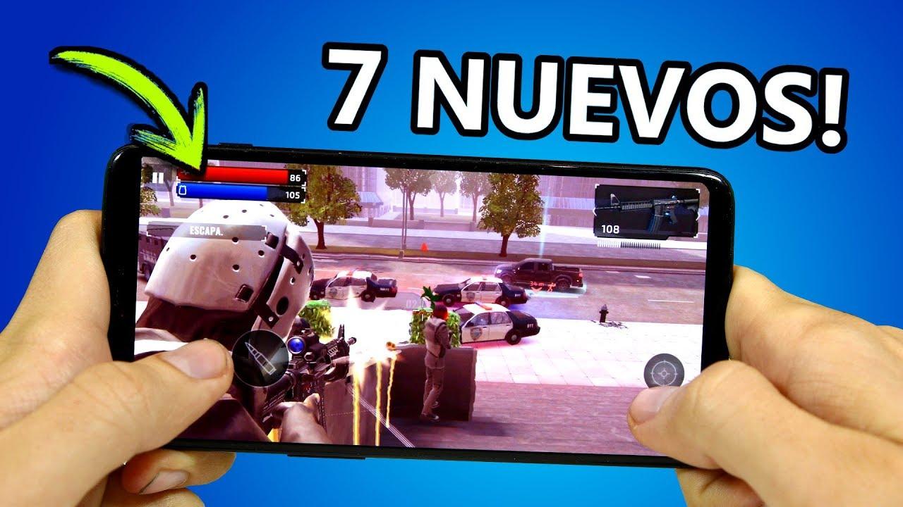 Top 7 Mejores Juegos Android Offline Y Online 2019 Youtube