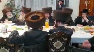 Cantor Moti Boyer Sings For Sadigura Yerushalayim Rebbe