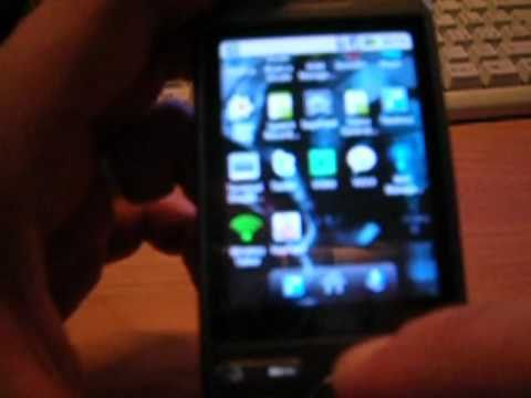 HTC Tattoo with android 2.2 ROM SPQRom 0.5