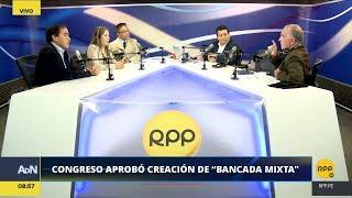 Congresistas Lescano, Vilcatoma y Vieira discuten la 'Ley antitránsfugas' │RPP