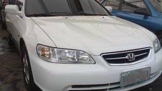 2002 Honda Accord Review (Start Up, In Depth Tour, Engine)