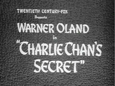 Charlie Chan  L'ora Che Uccide  Film Completo 1936 Warner Oland