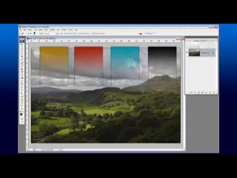 improving a landscape photo