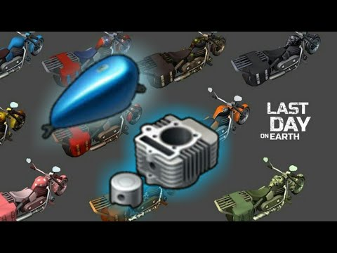👉Must watch👈Easy Chopper Gas tank and Engine parts (How to get it) - Last day on Earth: Survival