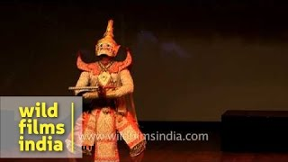 Thailand Fine Arts Department team enacts Ramayan story in India