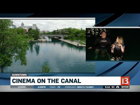 Sunset Cinema On The Canal