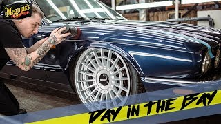 Day In The Bay *Paint Restoration for Players Shows Jaguar XJR