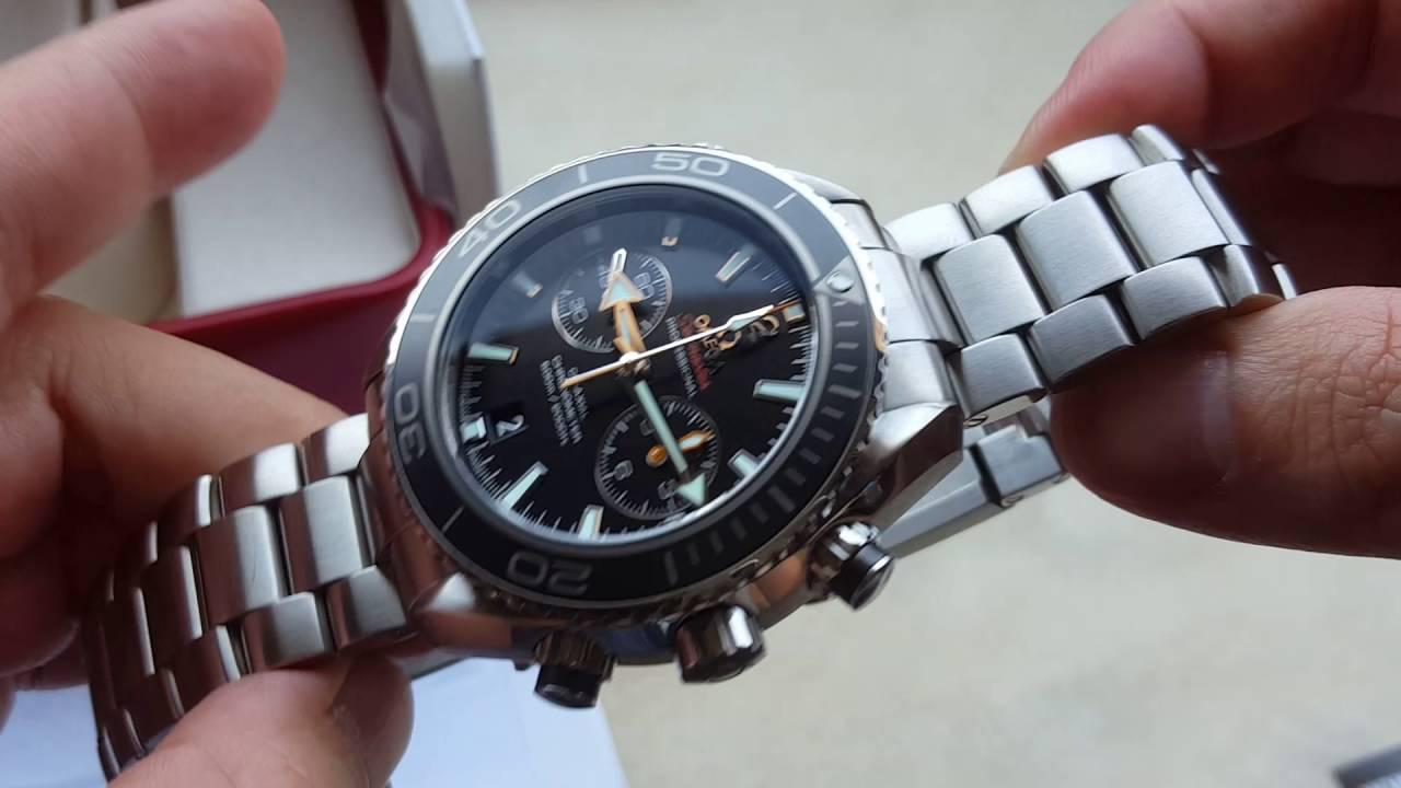 Relógio Omega Seamaster Coaxial Planet Ocean Vidro Safira Youtube